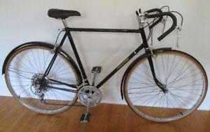 Black Vintage Raleigh 10 Spd Racing Road Bike w/ Fenders – NICE!