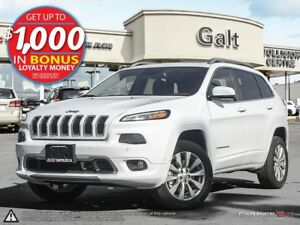 2016 Jeep Cherokee | OVERLAND | 4X4 | DEMO | LEATHER | SUNR