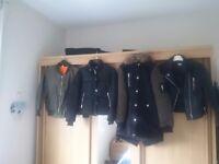 4 like new jackets