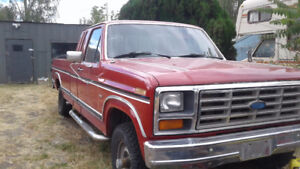 1986 Ford F-150 XLT Project or Parts