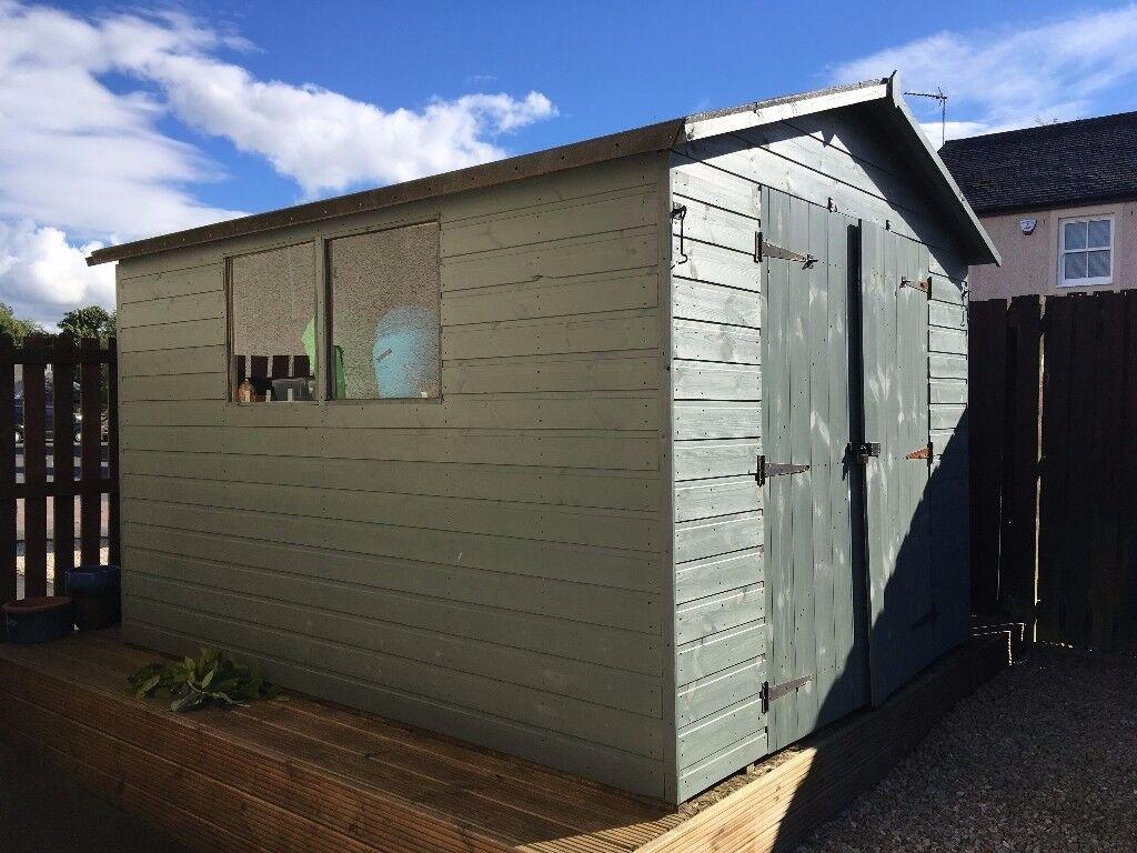10x8 workshop shed - Garden Sheds Huddersfield