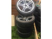 Genuine bmw 19inch 313 alloy wheels with excellent tyres I wheel professional