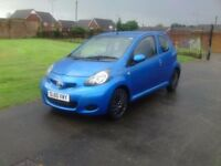 60- TOYOTA AYGO BLUE 1.0cc EXCELLENT CONDITION £2295 o.n.o