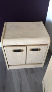 Bureau and nightstand for sale