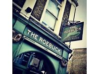 Waiter/Waitress/Bar staff required for Chiswick pub The Roebuck - Service charge paid weekly in cash