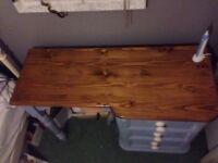 Bedroom Wooden Desk