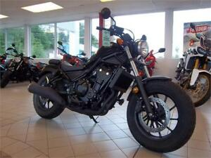 NEW 2017 Honda Rebel 500 with ABS - $30 Weekly Tax Included !