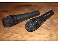 ***Super Value*** - Pro Audio - x2 Sennheiser e845 Microphones
