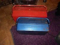 two very manly TOOLBOX S [ TOOL BOX ] - CLACTON ON SEA - CO15 6AJ