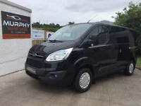 2013 Ford transit custom trend 125 factory crew cab 6 seater finance available
