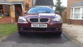 2004 Red BMW Estate 5 series (530D) - manual - Diesel