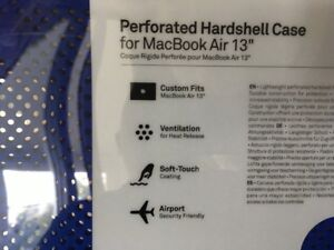 perforated hardshell  case for macbook air 13``