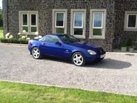 Mercedes, slk, convertible, open to offers, PX or swap