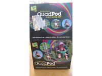 QUAD POD KIDS SWING SEAT / NEW OPEN WITH ORIGINAL BOX