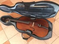 Handmade Cello For Sale With Case