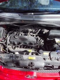 Hyundai Getz 1.3i 82hp Petrol