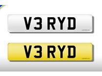 V3 RYD cherished plate.