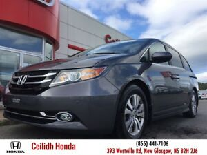 2014 Honda Odyssey EX-L w/RES|LEATHER|DVD|LOW KMS