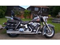 1997 Harley Davidson Heritage Softail Classic 1340cc, great condition for year .