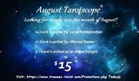 August Tarotscope from a Reliable Psychic