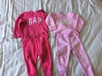 Gap tracksuits 2-3 years excellent condition