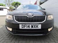 SKODA OCTAVIA 1.6 ELEGANCE TDI CR DSG 5d AUTO 104 BHP (black) 2014