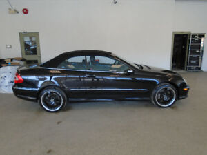 2005 MERCEDES CLK500 CONVERTIBLE! ONLY 94,000KMS! ONLY $19,900!