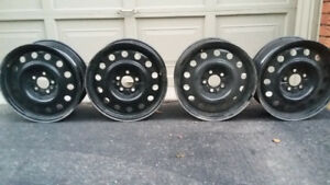 4 Rims-gently used