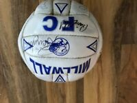 Millwall signed football