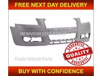 AUDI A3 3/5DR 2004-2008 FRONT BUMPER PRIMED NEW INSURANCE APPROVED FREE DELIVERY