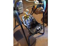 Baby musical Graco swing 6 speeds VGC One Hundred Pounds New