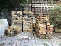 Yellow London Stock (reclaimed) + Mixed Stock Bricks