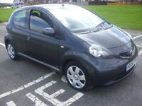 TOYOTA AYGO+D-4D,1.4 TURBO DIESEL,1 OWNER GENUINE 43K, FDSH,MARCH MOT,70+MPG,RUNS AND DRIVES PERFECT