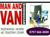 Man and Van cheap removals service (waheed)