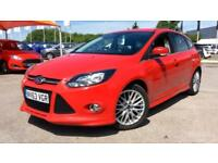 2013 Ford Focus 1.6 TDCi 115 Zetec S 5dr Manual Diesel Hatchback