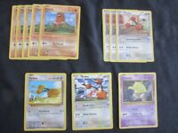 Various Pokemon TCG - D