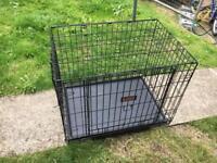 KONG® Space Saving Double-Door Pet Crate