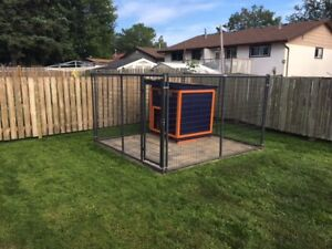 Elite Series Kennels 10x10 with Gate, Great For Large Dogs!!