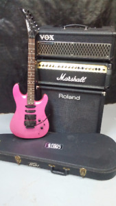 Peavey guitar and various amp package