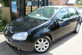 2004 Volkswagen Golf TDi 2.0 GT TDI 5 Door Black FSH Cambelt Changed Diesel Car