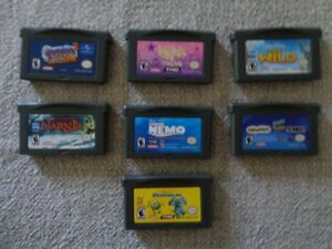 Nintendo Game Boy Advance Games