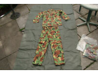 NEW (in packet) DRAGON Jungle SUIT - (Shirt and Trousers) Size Large