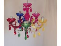 Marie Therese 5 arm Colourful Chandelier
