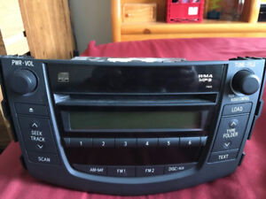 Toyota 6cd/ radio player
