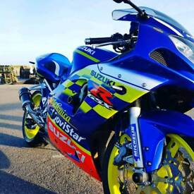 Gsxr k2 600 very clean and loads of upgrades