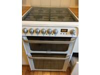 Almost New Hotpoint Ultima Electric oven and gas hob