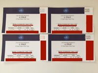 4 x J Cole Block 112 Seated Tickets. Best Block! O2 Arena London