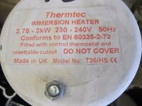 Immersion Heater For Sale. BRAND NEW! (For Copper Cylinder / Water Heater) Only A Tenner *£10*