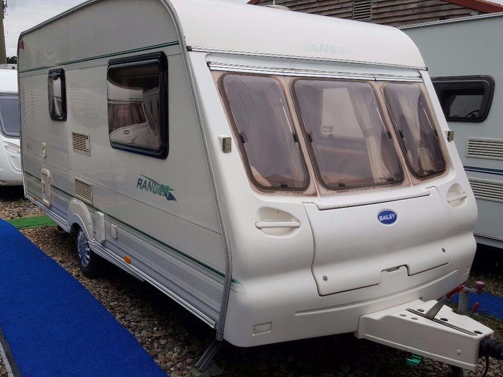 2001 Bailey Ranger 460 2 Berth End Washroom Caravan