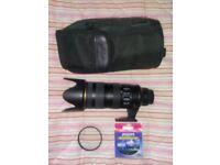 Nikon (Nikkor) AF-S 70-200 f2.8G ED VRII + UV & Polariser filters